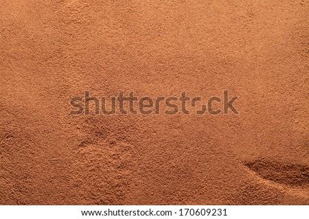 coffee powder background  - stock photo