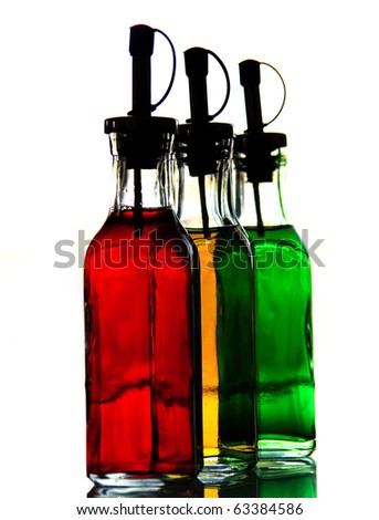 3 color flask