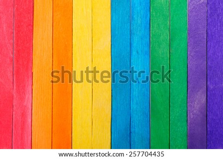 color full wood background - stock photo