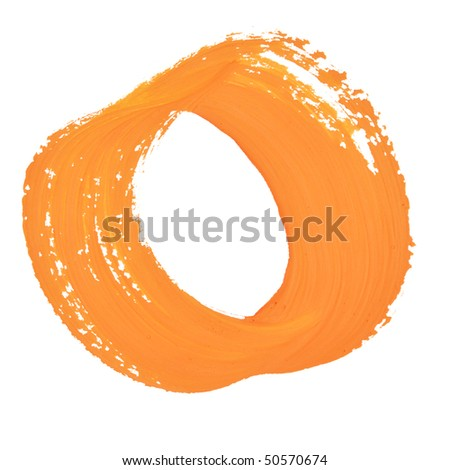 0 - Color numbers isolated over the white background - stock photo