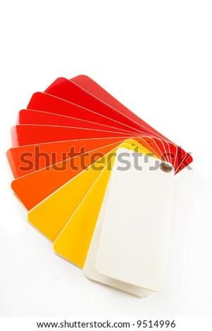 color sampler - stock photo