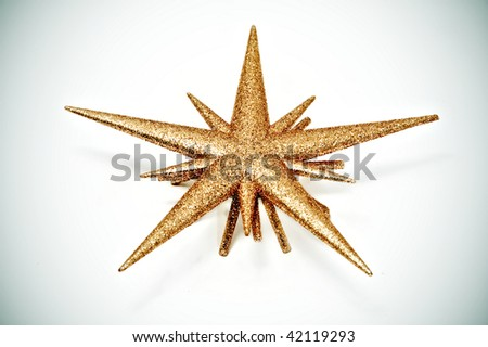colored christmas stars on a white background