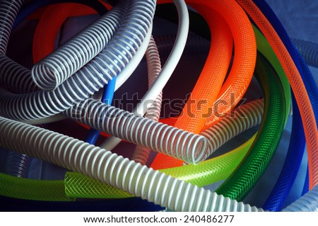 Colored Garden Hose