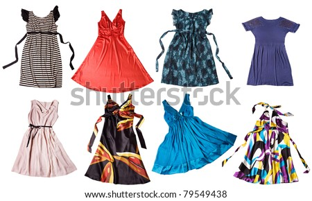 Colorful Dresses