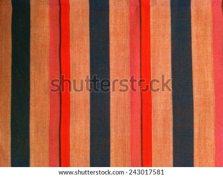 Colorful fabric plaid  loincloth abstract pattern and background