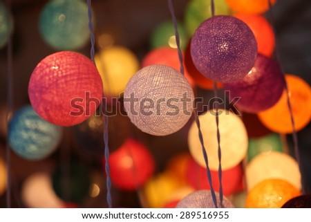 colorful light - stock photo
