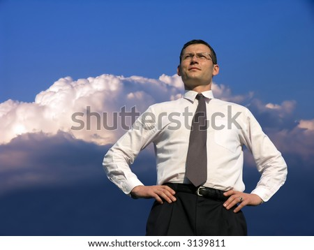 Concept of Leadership . - stock photo