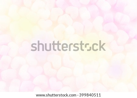 corn cushion heart  with color pastel for background - stock photo