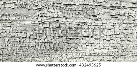 cracks in  paint wood texture, grunge background,