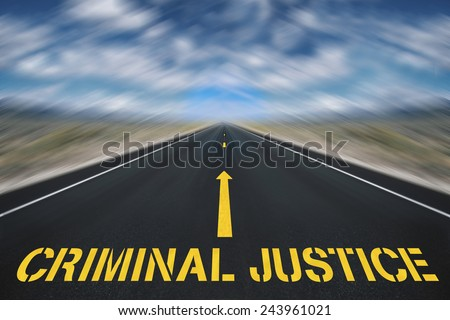 Criminal justice - stock photo