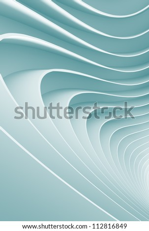 3d Abstract Architecture Design - stock photo