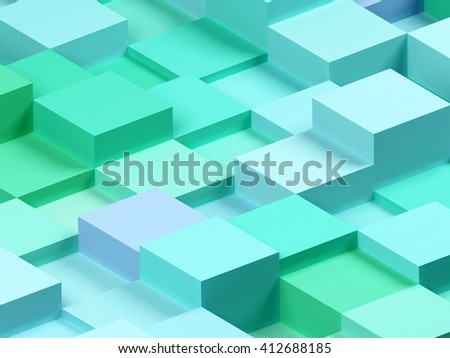 3d abstract background. 3d rendering image. - stock photo