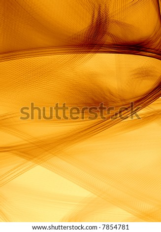 3D Abstract Background Illustration with hi detail - Sepia