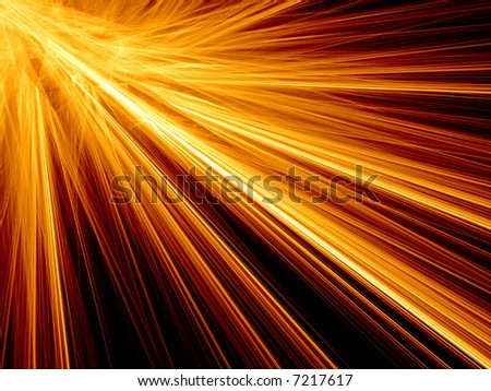 3d Abstract Background of random lines - stock photo