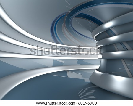 3d abstract background. Rendering image - stock photo