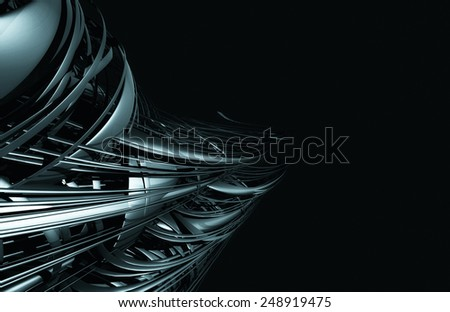3D abstract design  - stock photo
