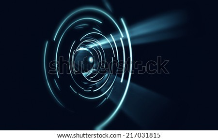 3d abstract futuristic background