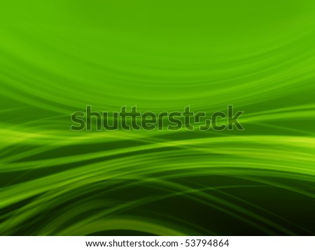 3d abstract green background - stock photo