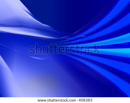 3D Abstraction digital design. - stock photo