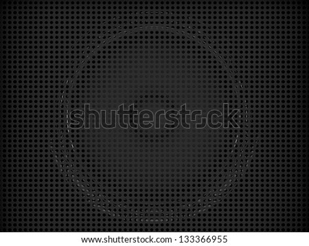 3d amplifier background - stock photo