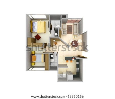 3d architectural view