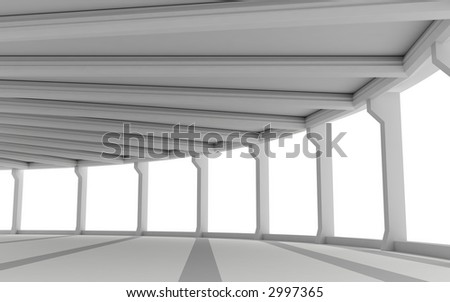 3d--architecture - stock photo