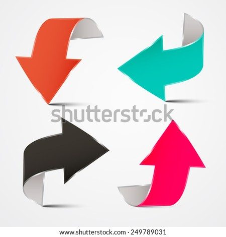 3D Arrows Set