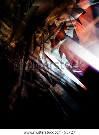 3D Background - stock photo
