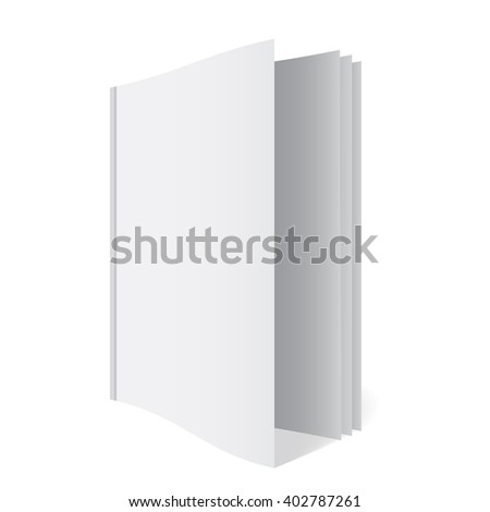 3 D Book Template Stock Illustration 402787261 - Shutterstock