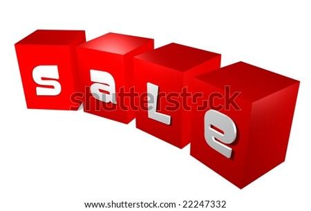 3D business illustration