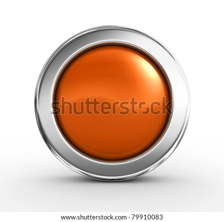 3D button - stock photo