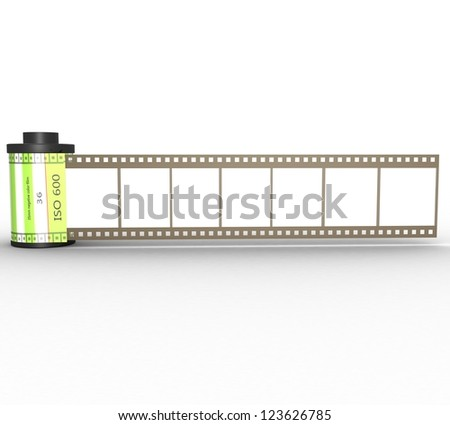 3D Canister with film
