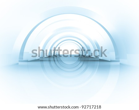 3D Checkered puzzle background - stock photo