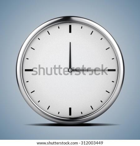 3d clock, concept - stock photo
