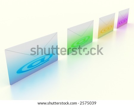 3d, Color envelopes