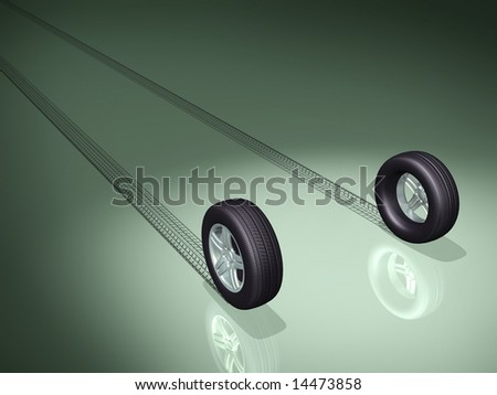 3d concept illustrations - stock photo