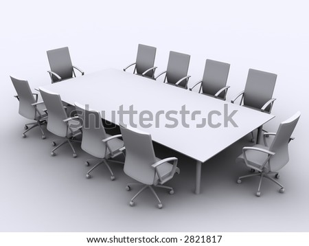 3d conference table