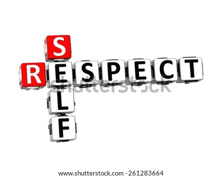 how to show self reapect