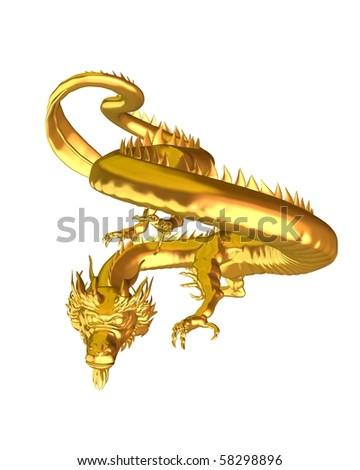 Good Luck Symbol Chinese Dragon