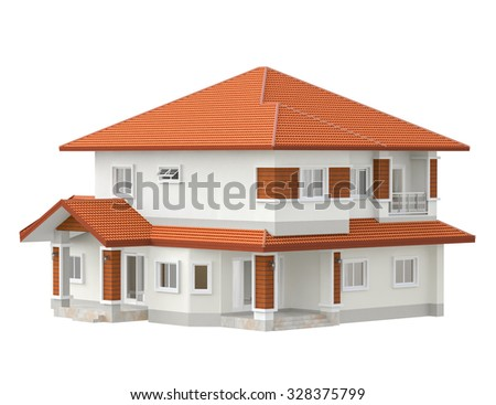 3D drawing design plan house
