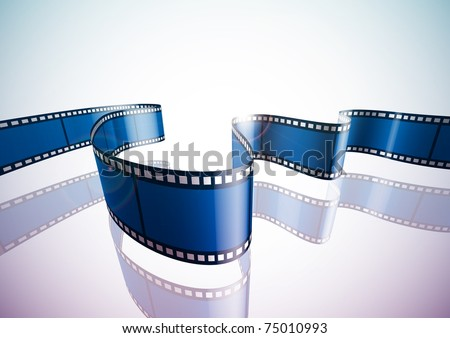 3D Film - stock photo