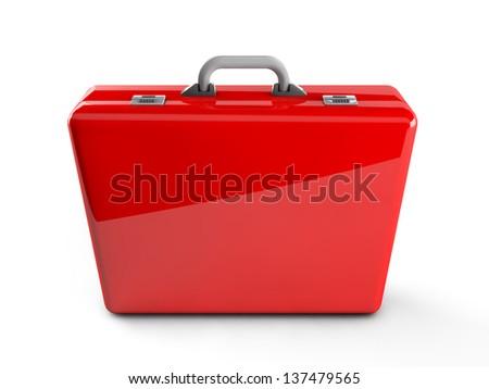 3d First aid kit box - stock photo