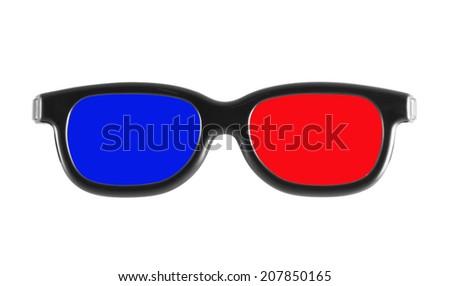 3D glasses - stock photo