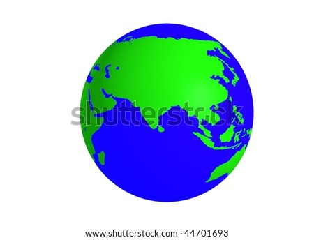 3d globe and earth world map