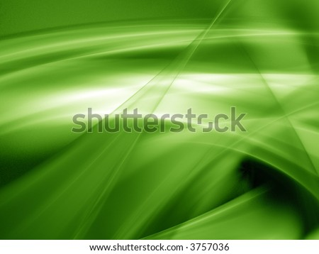 3D Green background - stock photo