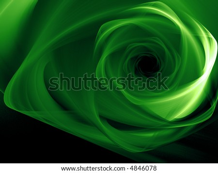 3D Green background