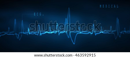 2d illustration Abstract medical background