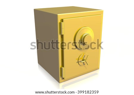 Hotel Door Handle Electronic Key Stock Vector 52730041