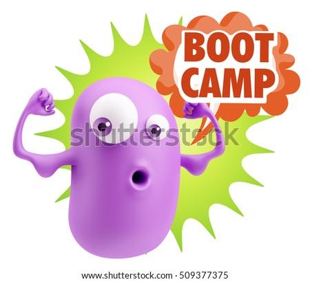 Outdoor Boot Camp Gym Clip Art