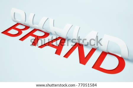 3d illustration isolated on a white background - stock photo